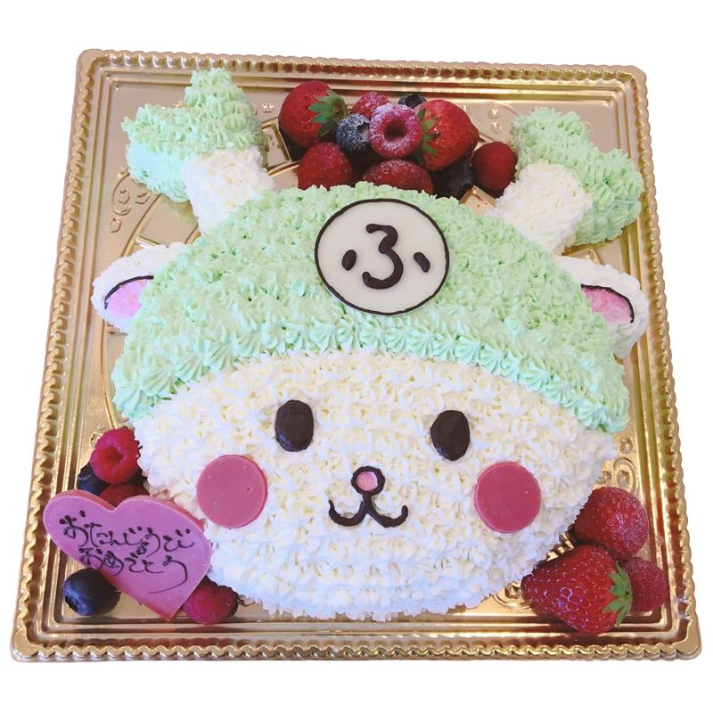 キャラクター型ケーキ(オーダー)