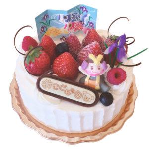 生クリームデコレーション(子供の日イベントケーキ)