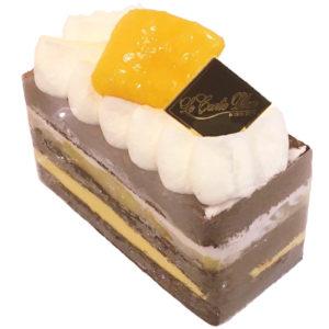チョコレートのショートケーキ1