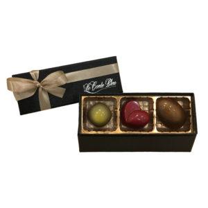 チョコレートの宝石3個セット