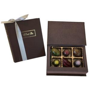 チョコレートの宝石6個セット